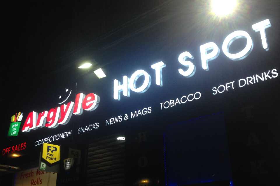 Argyle Hot Spot