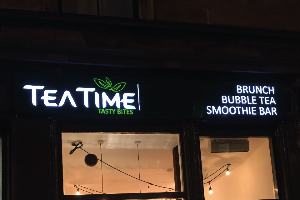 signs-edinburgh-light-box-signs-edinburgh-teatime