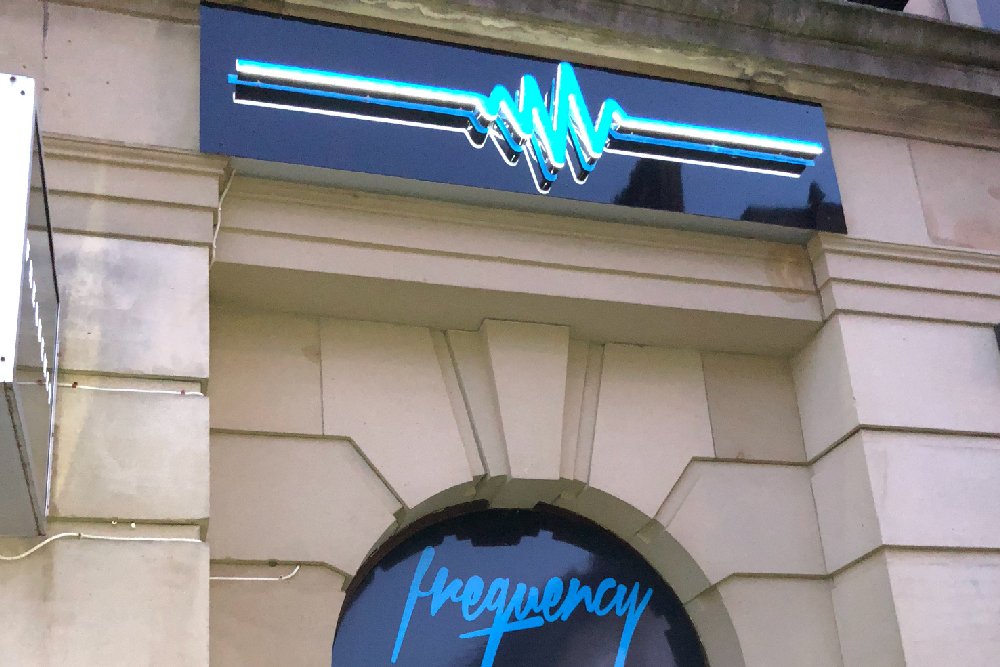 signs-glasgow-frequency-3d-light-box-signs-glasgow-edinburgh-signs