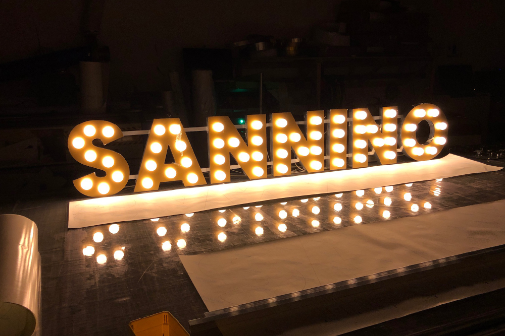 signs-glasgow-sannino-3d-light-letters-light-box-signs-glasgow-edinburgh-signs