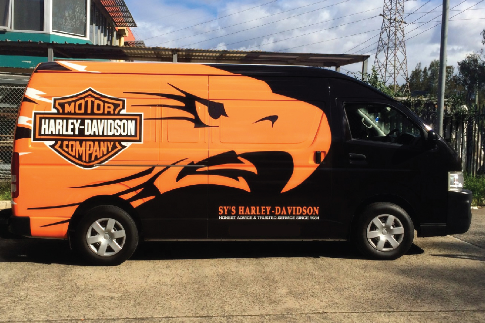 Full body Van Wrap